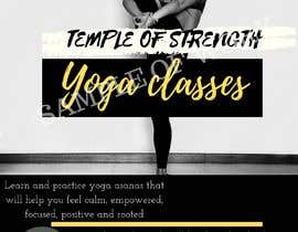 #31 for Design a A4 Yoga Poster af NurZahirah97