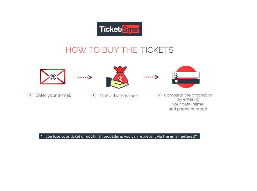 Contest Entry #114 for Create Illustration about method for buy a ticket