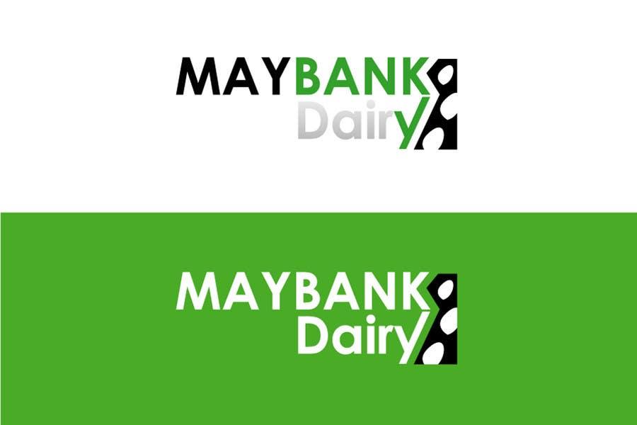 Inscrição nº 67 do Concurso para Logo Design for Maybank Dairy