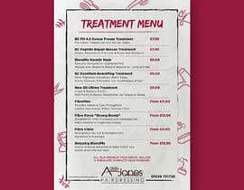 """#2 for Create a double sided """"Treatment"""" & """"Drinks"""" menu af ISShaikh007"""