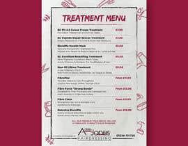"""Nro 2 kilpailuun Create a double sided """"Treatment"""" & """"Drinks"""" menu käyttäjältä ISShaikh007"""