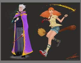 #34 for Need concept art design aesthetics for wizarding game by GMarsillart