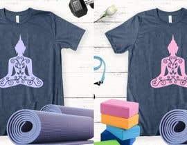 #21 for Yoga Shirt Designs af ConceptGRAPHIC