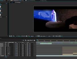 #3 para Insert me into this short Star Wars clip as the hologram por abdenourr