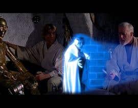 #7 para Insert me into this short Star Wars clip as the hologram por R1QU3