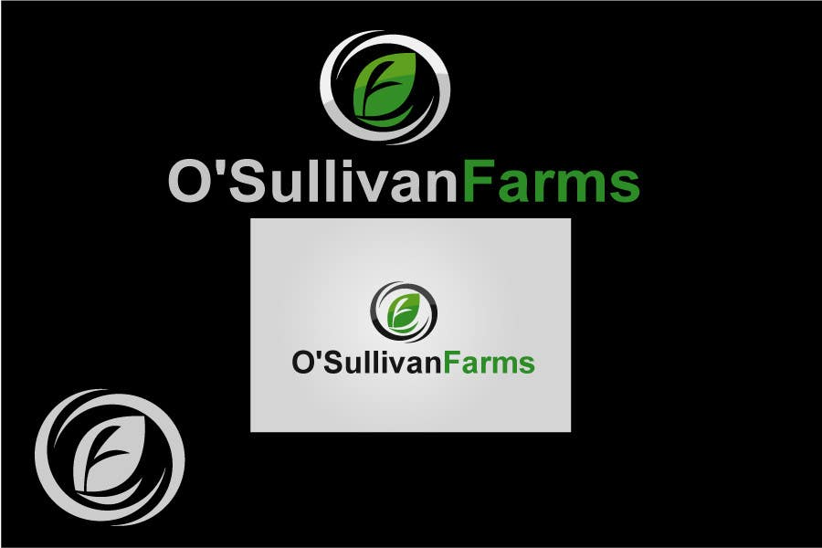 Proposition n°                                        179                                      du concours                                         Logo Design for O'Sullivan Farms