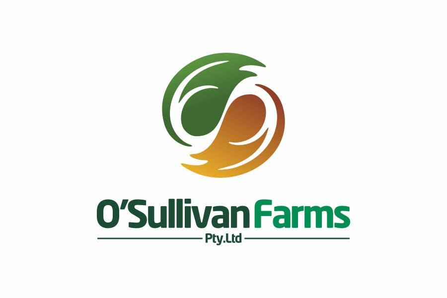 Proposition n°                                        147                                      du concours                                         Logo Design for O'Sullivan Farms
