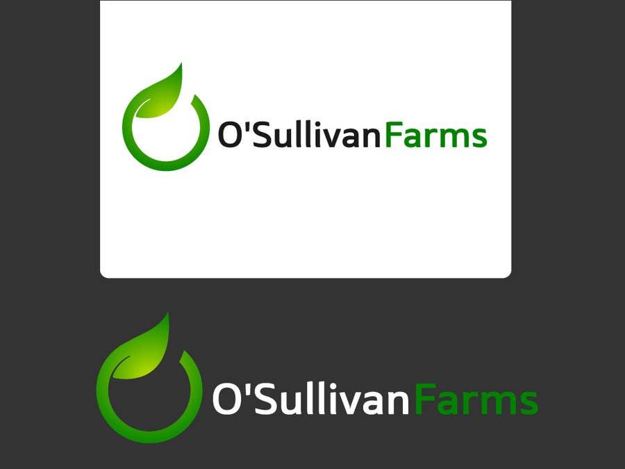 Proposition n°                                        106                                      du concours                                         Logo Design for O'Sullivan Farms