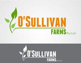 #155 para Logo Design for O'Sullivan Farms por taganherbord