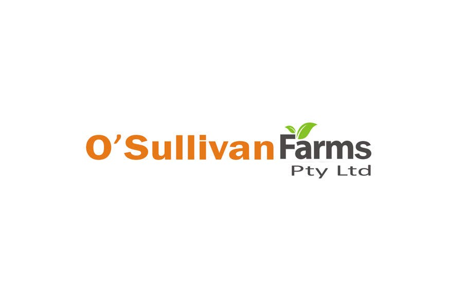 Kilpailutyö #                                        56                                      kilpailussa                                         Logo Design for O'Sullivan Farms