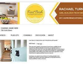 #51 for Design youtube channel artwork / header/ banner by masudrana6cc30