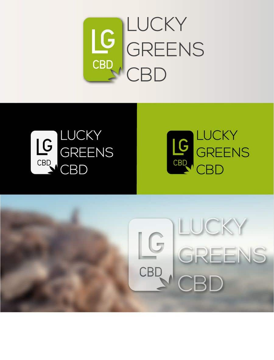 Contest Entry #496 for Lucky Greens CBD
