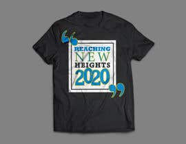 """rayhanb551 tarafından Needs to say """"Reaching new heights 2020"""" needs to be sky themed maybe add a plane?  Needs to represent doing better next year and taking things to new heights. için no 5"""