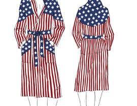 Nro 42 kilpailuun Design an American Flag Bathrobe käyttäjältä VickyPolo