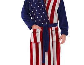 Nro 28 kilpailuun Design an American Flag Bathrobe käyttäjältä liakatlaiz