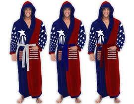 Nro 63 kilpailuun Design an American Flag Bathrobe käyttäjältä MayonPunx