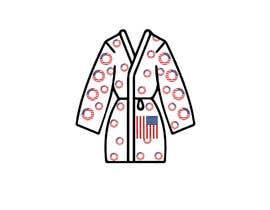 Nro 71 kilpailuun Design an American Flag Bathrobe käyttäjältä gb25