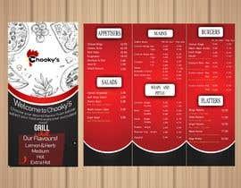 #21 untuk Takeaway shop menu design oleh YASHkaps