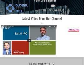 #17 für Re-Design our Website (GlobalTechBox.com) von falgunbaroi3