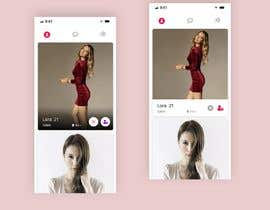 #27 for Redesign of dating app main page by darkevangel