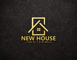 #302 for New House In Town - Real estate agency logo af WebUiUxPro