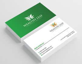 #272 for Wealthy Leaf needs business cards by Heartbd5