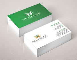 #274 for Wealthy Leaf needs business cards by Heartbd5