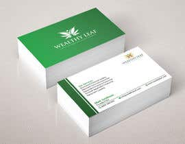 #275 for Wealthy Leaf needs business cards by Heartbd5