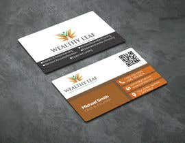 #277 for Wealthy Leaf needs business cards by SJRuku