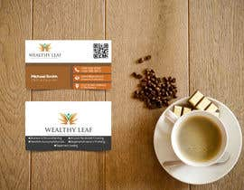 #278 for Wealthy Leaf needs business cards by SJRuku
