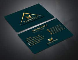#267 for Wealthy Leaf needs business cards by NaharS888