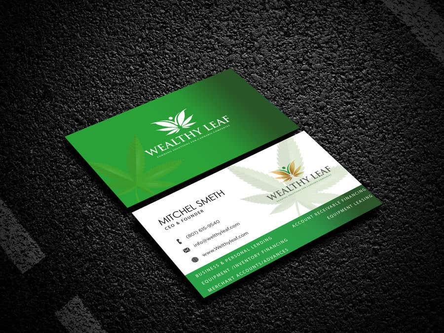 Proposition n°163 du concours Wealthy Leaf needs business cards