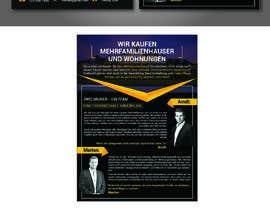 Nro 93 kilpailuun Flyer Design for Real Estate Agent käyttäjältä zobairit