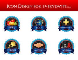 #15 para Icon or Button Design for www.everydaype.com por raikulung