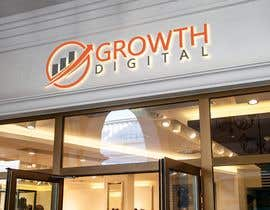#187 for Logo for Digital Maketing Agency (Name: Growth Digital) af greatesthatimta2