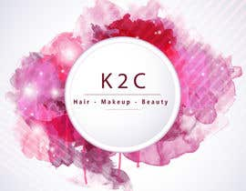 nº 10 pour the company is called K2C, Hair - Makeup - beauty should sit under the logo please look at attachments for ideas of what I am after. par rajalmanerikar
