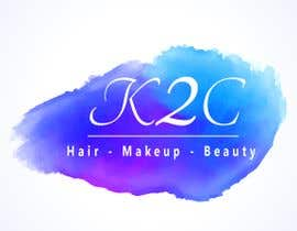 nº 41 pour the company is called K2C, Hair - Makeup - beauty should sit under the logo please look at attachments for ideas of what I am after. par rajalmanerikar
