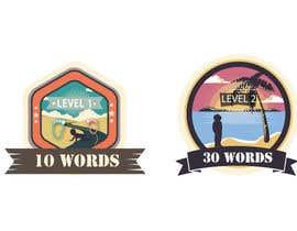 #28 para Design badges for an language learning platform de mehedibondhon
