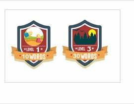 #30 para Design badges for an language learning platform de legalpalava
