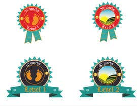 #9 untuk Design badges for an language learning platform oleh mrinmoymithun77
