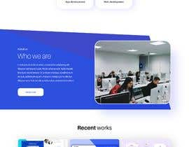 #50 for Create a design for a company website by gjgowtham
