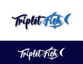 #162 untuk Would like a logo for TripletFish oleh xiebrahim97