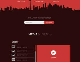 #10 for Design a website (Homepage PSD) by italyteam
