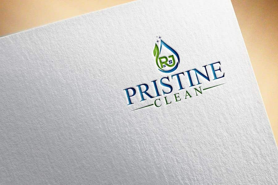 Конкурсная заявка №86 для I need a logo designed for a commercial cleaning company.  RJ Pristine Clean is the name of the company. I want something professional and catchy.