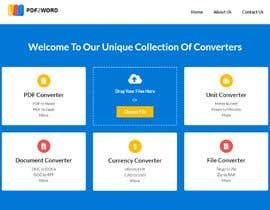 Nro 11 kilpailuun Design a landing Page for File Conversion Page käyttäjältä CoderSagor