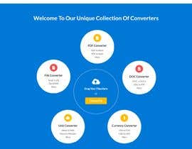 Nro 12 kilpailuun Design a landing Page for File Conversion Page käyttäjältä CoderSagor