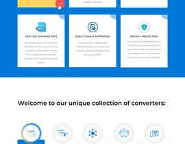 #13 untuk Design a landing Page for File Conversion Page oleh Saeed526