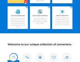 Nro 13 kilpailuun Design a landing Page for File Conversion Page käyttäjältä Saeed526