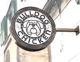 #36 untuk A logo designed for Bulldog Chicken oleh robsonpunk