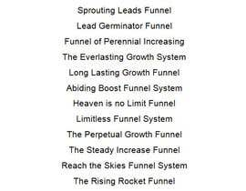 #32 for Name my lead generation funnel by mvamva